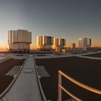 Sunset at the ESO Paranal Observatory