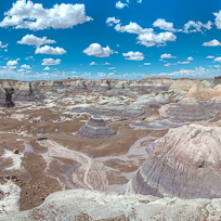 Blue Mesa Viewpoint, Petrified Forest National Park