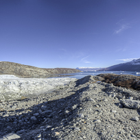 Glacier in the Harefjord, Greenland